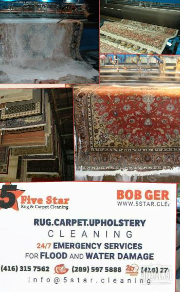 5 star cleaning rug carpet and upholstery richmond hill on 24 glenhurst rd canpages. Black Bedroom Furniture Sets. Home Design Ideas