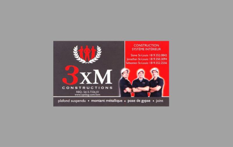 Constructions 3xm inc horaire d 39 ouverture 169 rue des for Piscine divion horaires d ouverture