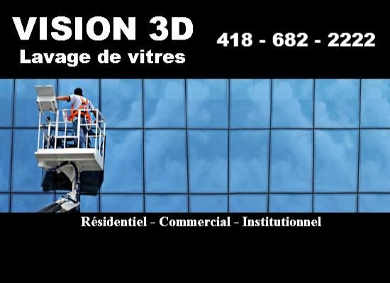 service vision 3d lavage de vitres qu bec qc 1598 rue de calais canpages. Black Bedroom Furniture Sets. Home Design Ideas