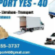 Yes Transport 40 - Services de transport - 5146553737