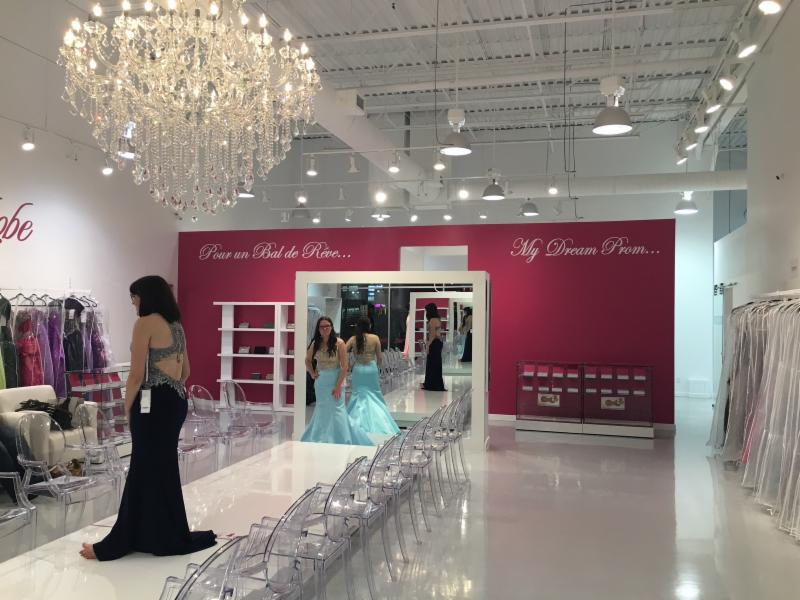 Boutique de robe de soiree a laval