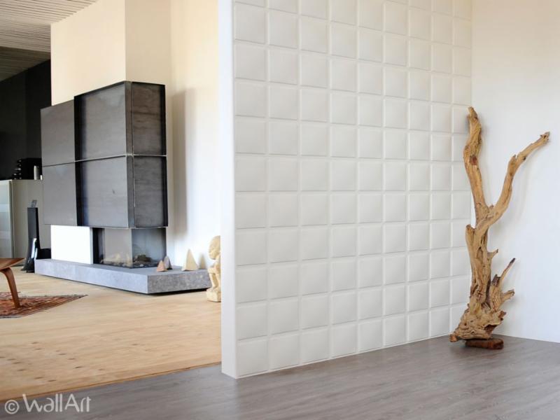 ... Plant Fiber 3D Wall Panels   Cubes Design   WallDecor 3D ...