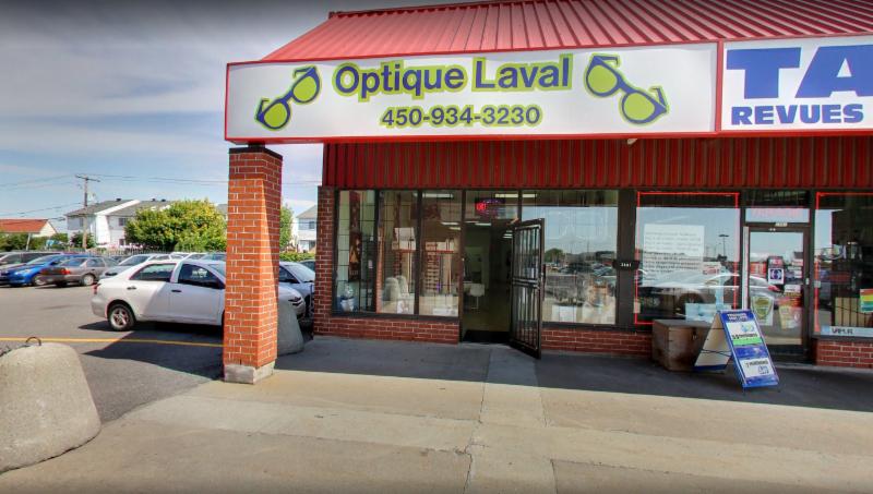 Optique laval laval qc 2401 boul cur labelle canpages for Equipement restaurant laval
