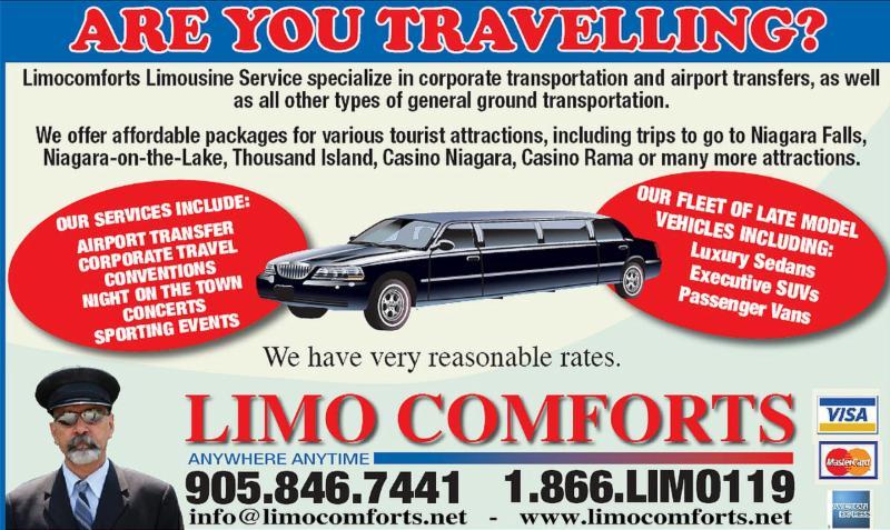 casino rama limo service