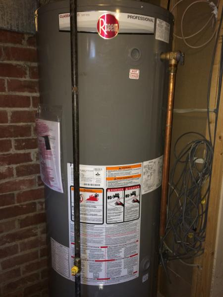 Hot Water Tank ; Service and Replacement