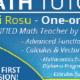Mihai Rosu Math Tutor - Tutoring - 416-220-0395
