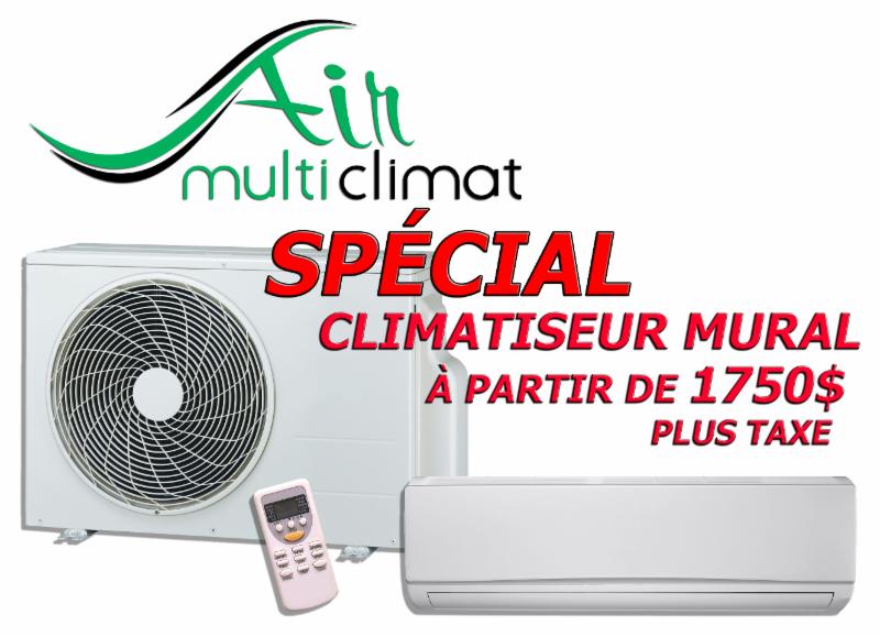Air multi climat inc horaire d 39 ouverture 817 boul for Climatiseur mural quebec