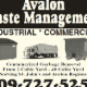 Avalon Waste Management - Residential Garbage Collection - 709-727-5252