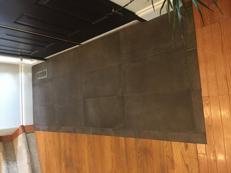 Entrance tiling