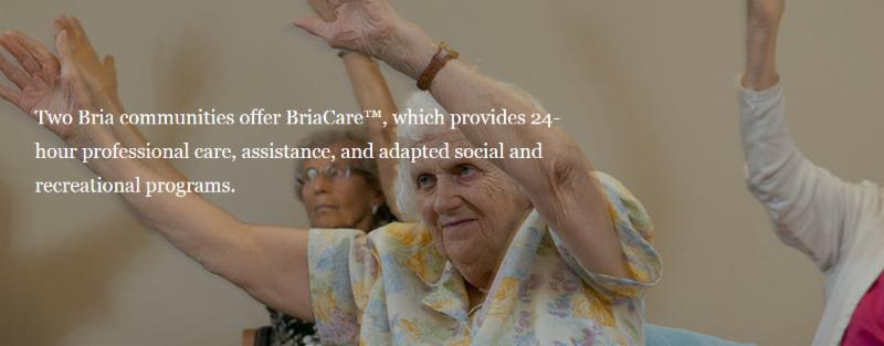 Bria communities offer BriaCare¿