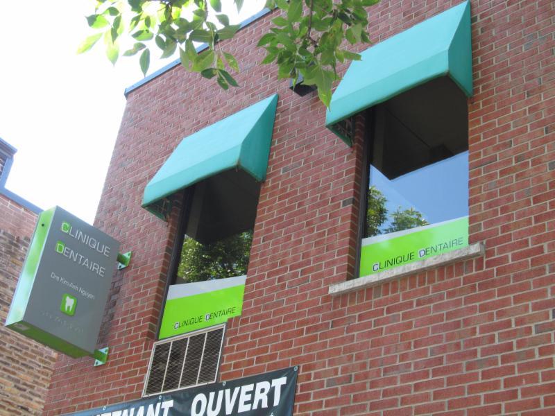 Devanture de notre clinique sur la rue Allard à Ville-Émard