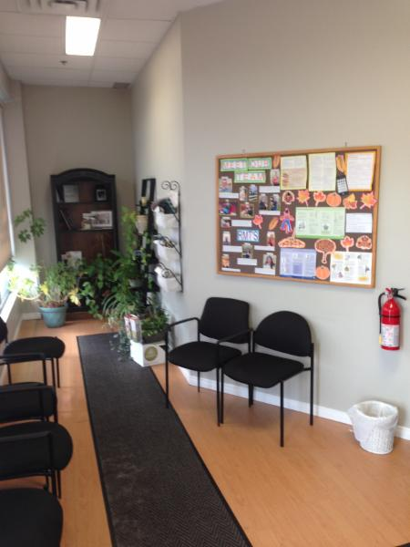 Ajax Wellness Chiropractiic and Massage Therapy - Waiting Room