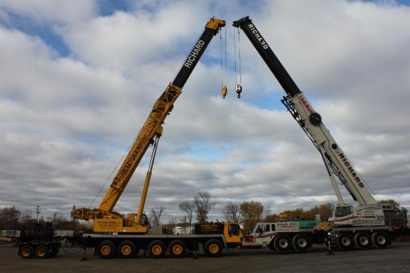 Telescopic Cranes Vancouver : Acier richard steel lt?e gatineau qc rue de granby