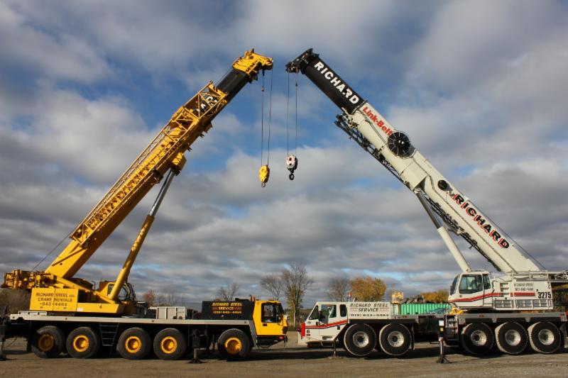 Telescopic Cranes Vancouver : Acier richard steel lt?e gatineau qc rue de