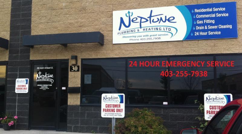 Call Neptune Plumbing & Heating Ltd today!